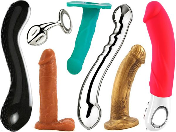 Change lubricant material according to dildos material